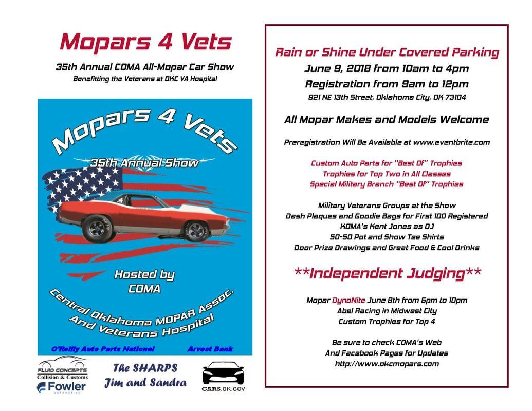 Central Oklahoma MOPAR Association Home - Car show okc today
